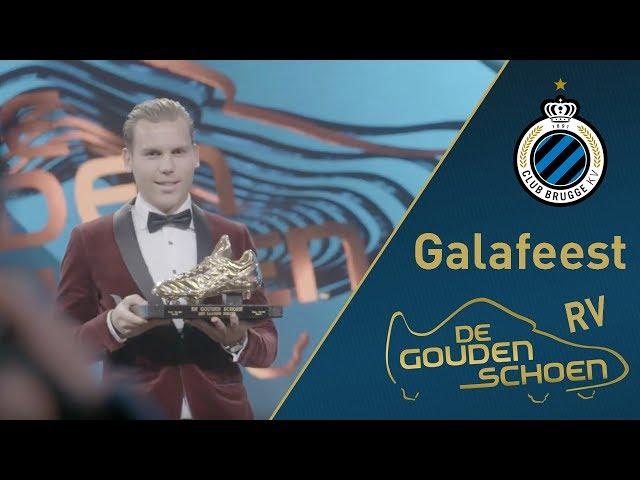 CLUB BRUGGE Gouden schoen Ruud Vormer   Galafeest   2017-2018