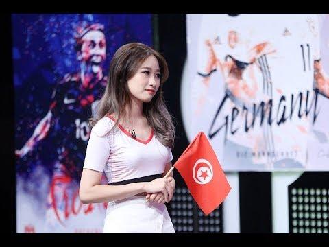 Phỏng Vấn Hotgirl World Cup - Linh Kul rất xinh và hiểu biết về bóng đá - Troll Gái Xinh