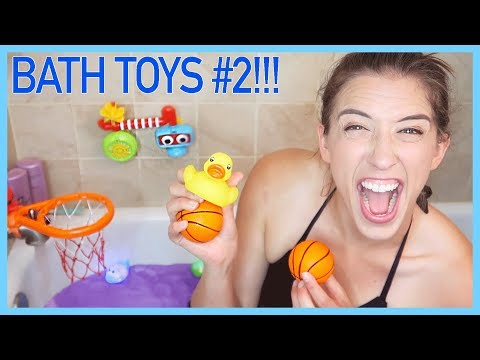 Trying Kids' Bathtub Toys #2!!!!!
