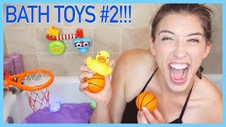 Trying Kids' Bathtub Toys #2!!!!! thumbnail
