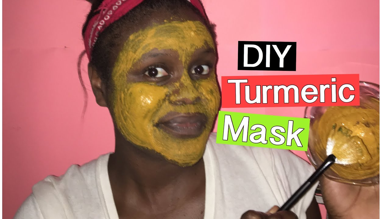DIY Turmeric Face Mask for glowing skin, acne and dark ...