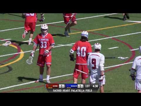 St Ignatius vs Sacred Heart Prep Boys Lacrosse 5/11/18