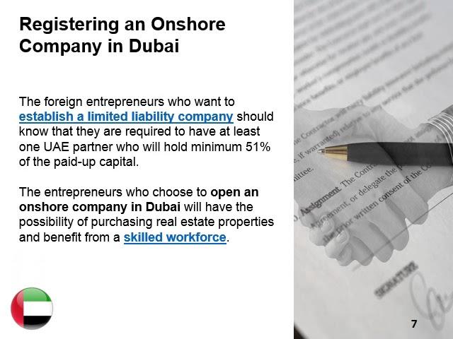 Set Up Onshore Company in Dubai