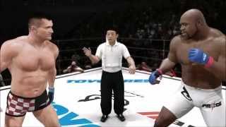 【ゲーム実況】UFC3 ミルコ・クロコップ VS ボブ・サップ  PS3【ボビーより人気】