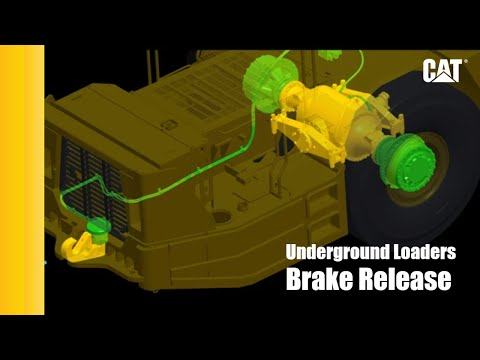 Cat® Underground Loaders: Know Your Options – Brake Release