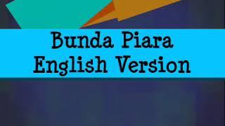 Cover - Bunda Piara English Version