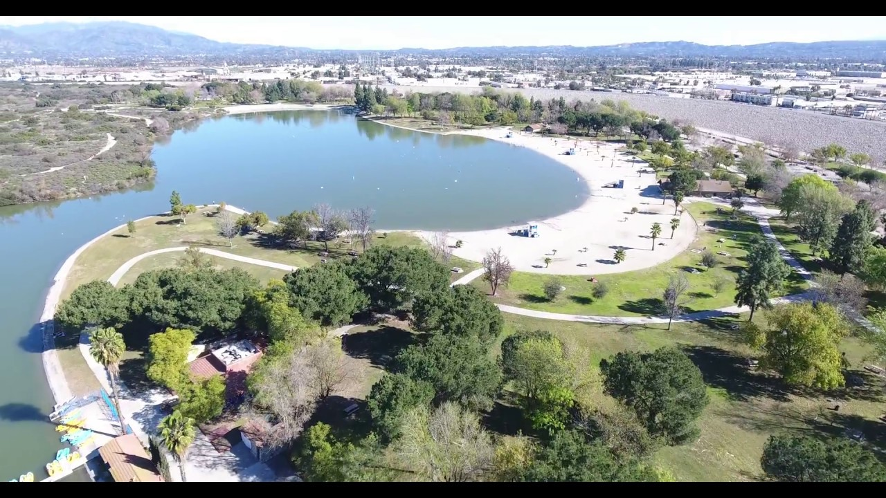 Drone Flight 218 Santa Fe Dam Youtube