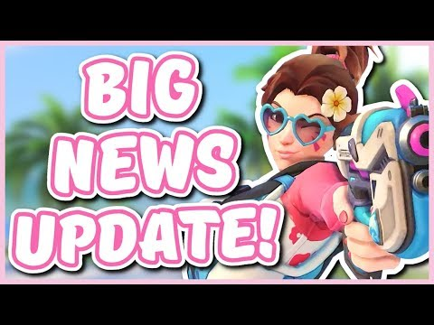 Overwatch - NEW SUMMER SKINS, SEAGULL RETIRING, AND MORE (Big News Update!) thumbnail