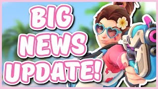 Overwatch - NEW SUMMER SKINS, SEAGULL RETIRING, AND MORE (Big News Update!)