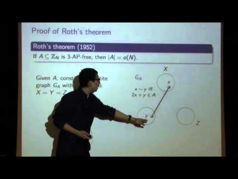 The Green-Tao theorem and a relative Szemeredi theorem - Yufei Zhao