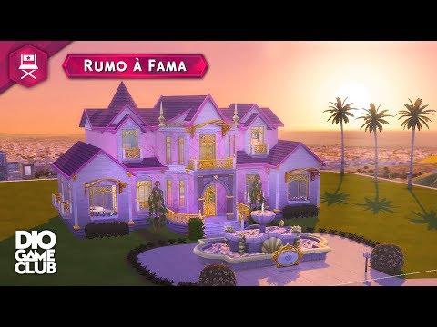 12 - O CHATEAU DA SHANAYA! ~ The Sims 4 Rumo à Fama | DioGameClub thumbnail