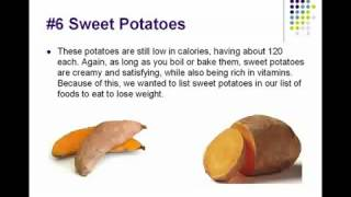 Top Ten Foods to Lose Weight Thumbnail
