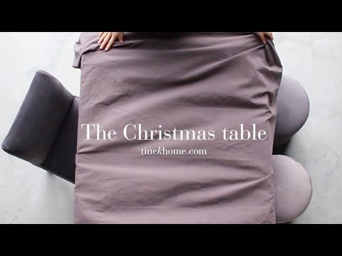 CHRISTMAS EVE | Set the table w. tinekhome