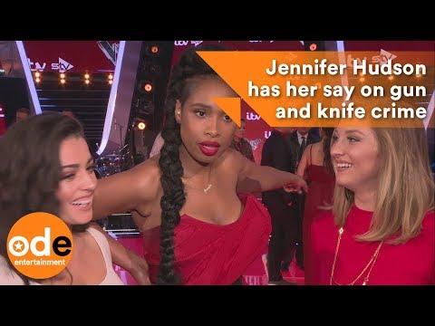 Jennifer Hudson has her say on gun and knife crime