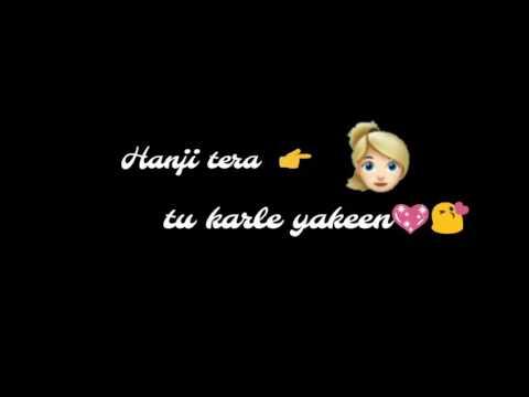 Jaan Meriye Main Tera Haan Song Singers: Miss Pooja, Millind Gaba