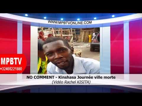 RDC - Peut-on avoir une révolution avec les kinois ? Suivez cet élément - No Comment