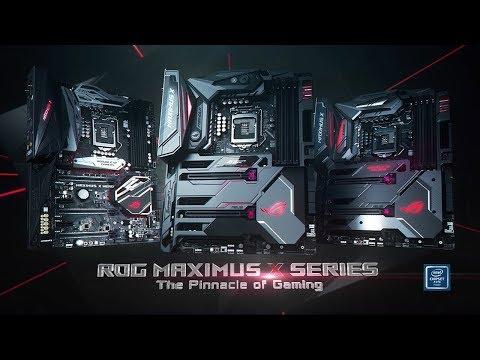 ROG Maximus X Series Z370 Motherboards | ROG