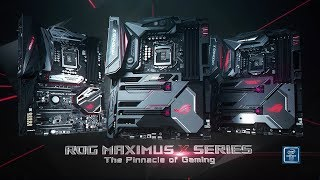 ROG Maximus X Series Z370 Motherboards | ROG