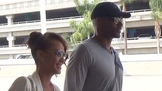 Lovely Couple Alert: Boris Kodjoe And Wife Nicole Ari Parker Hold Hands Through LAX