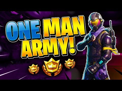 ONE MAN ARMY! Tournament Highlight #10 (Fortnite Battle Royale)