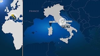 Землетрясение в Италии  в Риме эвакуировали метро