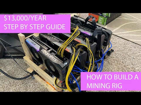 How To Build A Crypto Mining Rig [Step By Step]