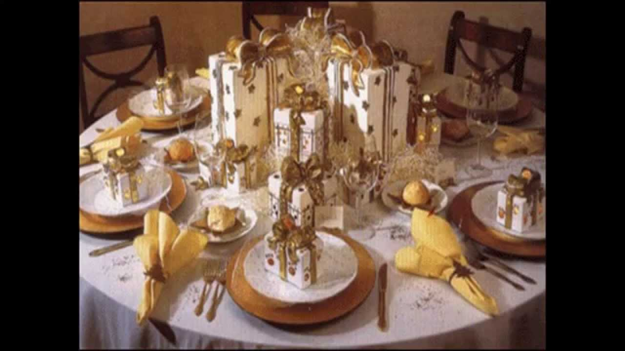 Wedding Dinner Party Ideas Part - 41: Easy Christmas Dinner Party Ideas - YouTube