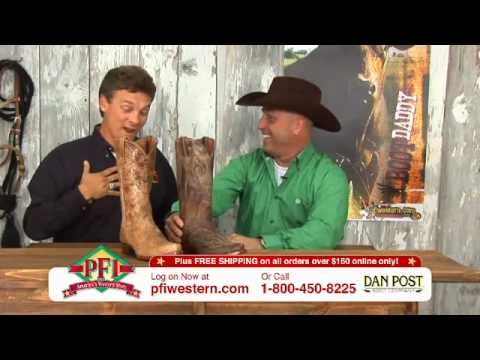 Dan Post Mens Fashion EL Paso Cowboy Boots