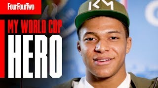 Kylian Mbappe Reveals His World Cup Hero!