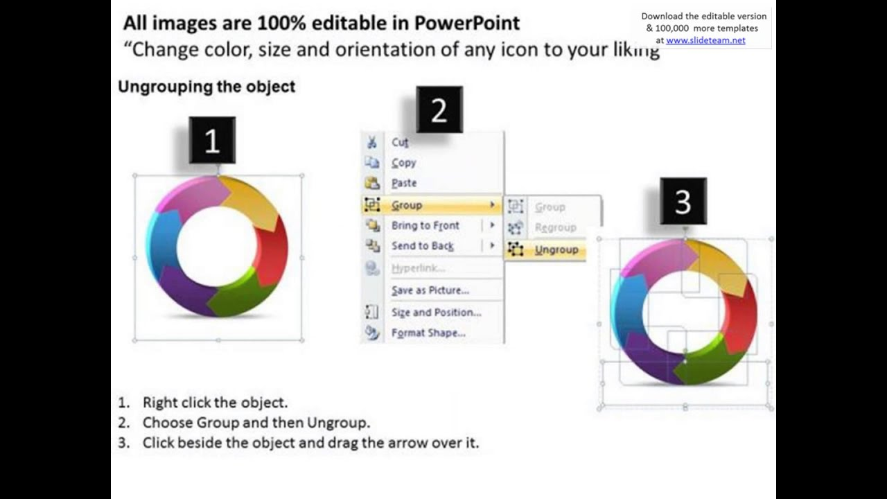 ppt ring shaped powerpoint smartart graphics 2010 arrows 6