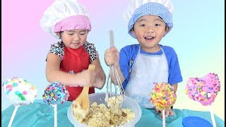 Kids Craft DIY: Learning How to Make Cake Pops for Valentines