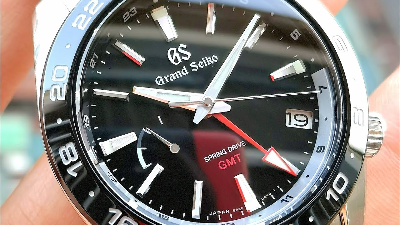 [Rất Đẹp] Grand Seiko GMT Spring Drive 40mm SBGE253   ICS Authentic