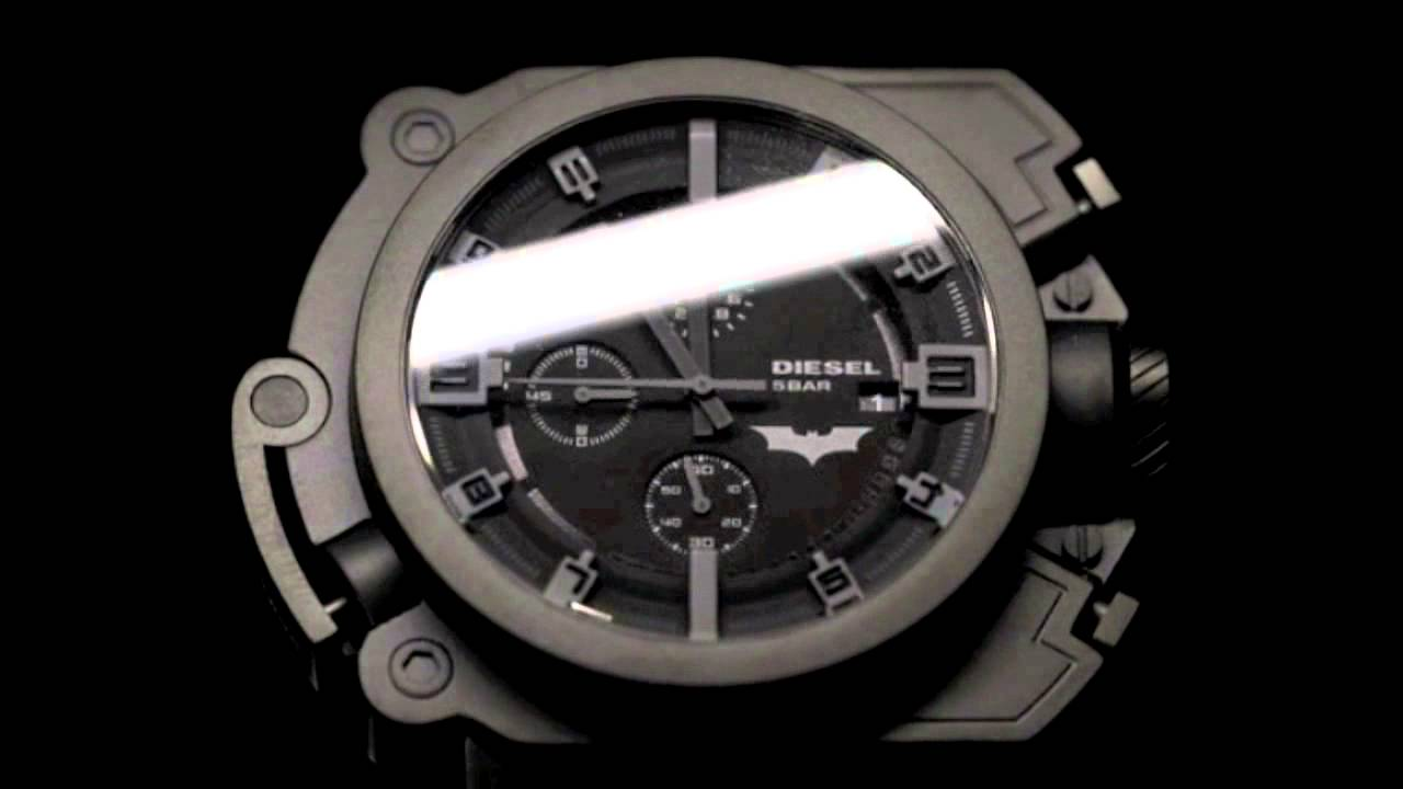 91ab1abea9ba6 Diesel Batman watch Limited Edition - YouTube