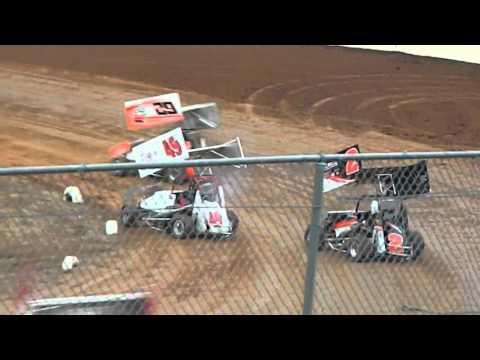 Paul Richards-Hamlin Speedway 4/30/2016- Heat Win