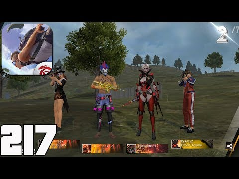 Free Fire Battlegrounds - Gameplay Part 217 - New Mod Cold Steel(iOS, Android)