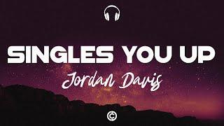 [ Lyrics 🎧 ] Jordan Davis - Singles You Up