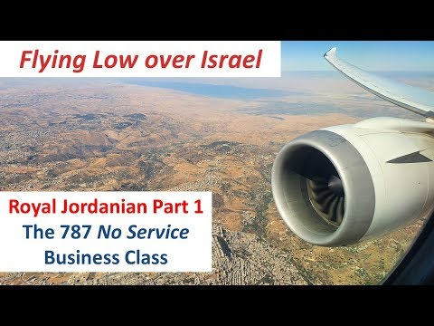 The 787 No Service Business Class:  Royal Jordanian Part 1