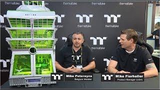 Computex 2017 Thermaltake Modder Interview - Mike Petereyns