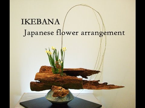 Japanese Flower Arrangement Ikebana 生け花 Youtube