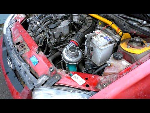 Как ДЁШЕВО увеличить мощность авто, ТУРБО из болгарки часть 1