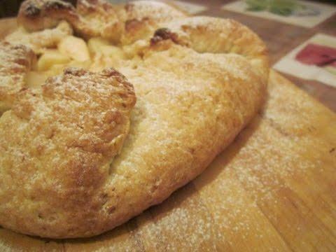 Пирог с яблоками постный (веган)
