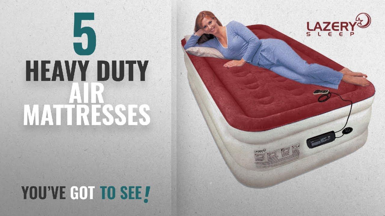 Heavy Duty Air Mattress >> Top 10 Heavy Duty Air Mattresses 2018 Lazery Sleep Air Mattress Airbed With Built In Electric 7