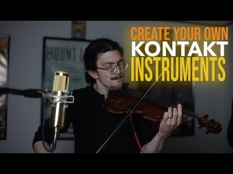 Make a Kontakt Instrument | Simple Version