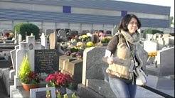 Tombe de Guy Lux au cimetière de Saint-Gratien