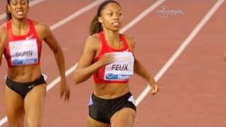Allyson Felix wins again in Diamond League - from Universal Sports