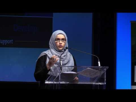 Sr. Asmaa Hussein at I.LEAD Ottawa Gatineau 2017 Conference
