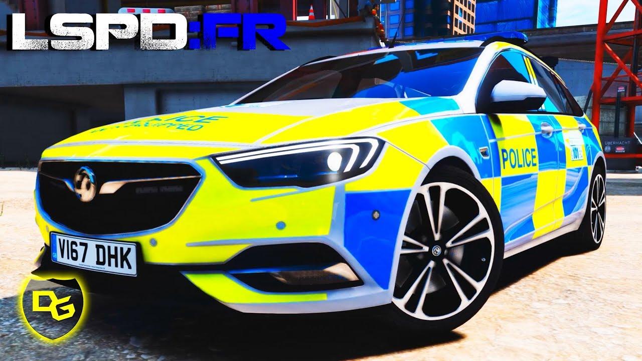die englische polizei » gta 5 lspd:fr #142 - deutsch - grand theft