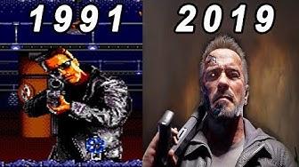 Evolution of Terminator Games 1991-2019