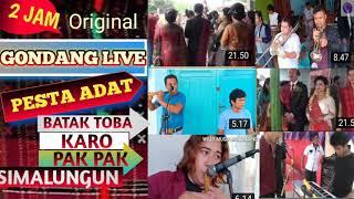 2 JAM  NONSTOP GONDANG PALING TOP Vol.1 LIVE PESTA BATAK TOBA, KARO,PAKPAK,SIMALUNGUN