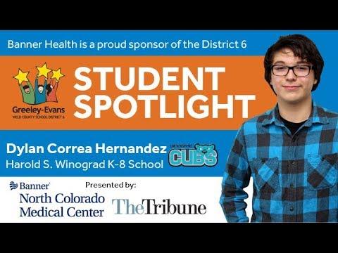 Student Spotlight: Dylan Correa Hernandez